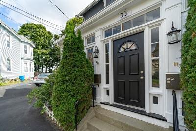 Melrose Single Family Home Under Agreement: 33 S High St #B