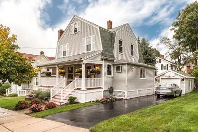 Melrose Single Family Home For Sale: 43 Meridian Street