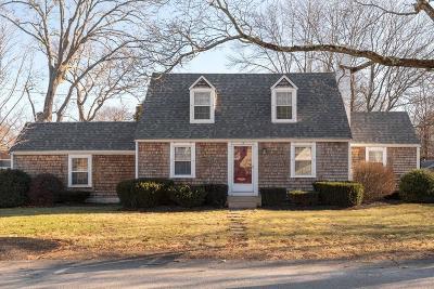 Hingham Single Family Home Price Changed: 3 Bradley Woods Drive