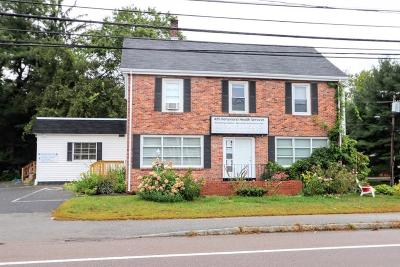 Framingham Single Family Home Under Agreement: 1151 Worcester Road