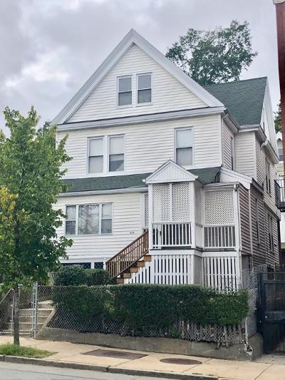 Multi Family Home Under Agreement: 429 Blue Hill Ave