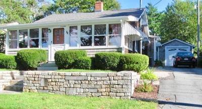Wareham Single Family Home Contingent: 54 Parkwood Drive