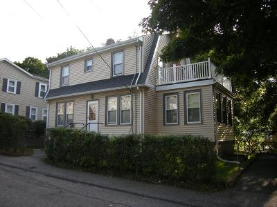 Dedham Single Family Home Contingent: 88 Mount Hope St