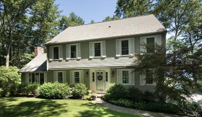 Duxbury Single Family Home Under Agreement: 28 Apple Hill Lane