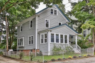 Dedham Single Family Home Under Agreement: 31 Greenhood St