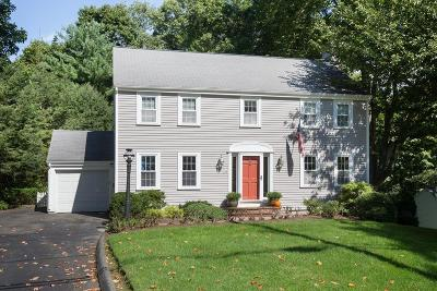Wellesley Single Family Home Under Agreement: 20 Carver Road
