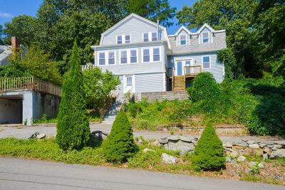 Dedham Single Family Home Under Agreement: 55 Hillsdale Rd