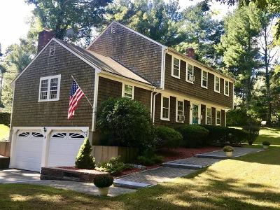 Marshfield Single Family Home Under Agreement: 14 Martingale Lane