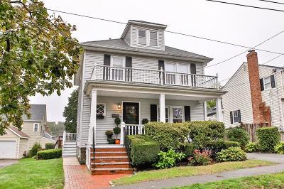 Milton Single Family Home Contingent: 8 Bailey Ave