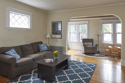 Arlington Condo/Townhouse Sold: 52 Walnut St #52