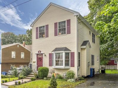 Wakefield Single Family Home Under Agreement: 6 Middlesex St