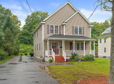 Brockton Single Family Home For Sale: 42 N Cary