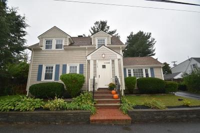 Braintree Single Family Home For Sale: 116 Hillside Road