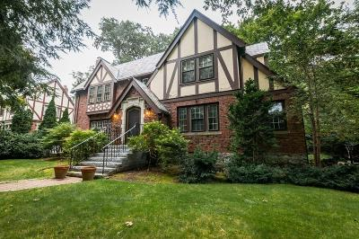 Newton Single Family Home Under Agreement: 1151 Commonwealth Ave