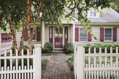 Newton Single Family Home Under Agreement: 7 Glenwood Ave