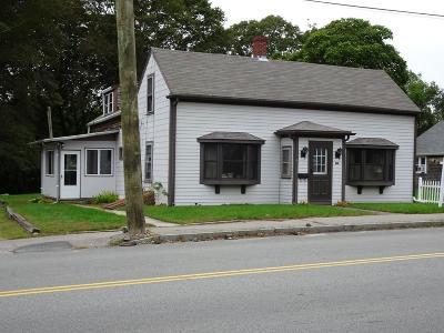 Wareham Single Family Home Contingent: 71 Gibbs Ave