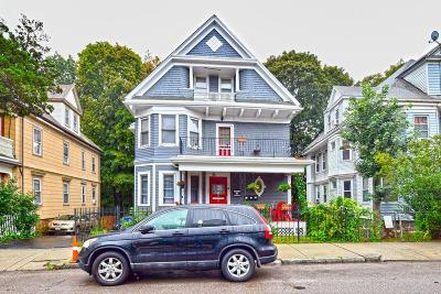 Boston MA Multi Family Home Under Agreement: $1,100,000