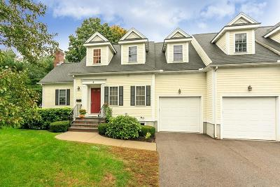 Natick Condo/Townhouse For Sale: 4 Palmer Ave #C