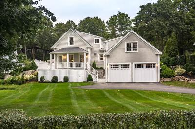 Cohasset MA Single Family Home For Sale: $1,195,000