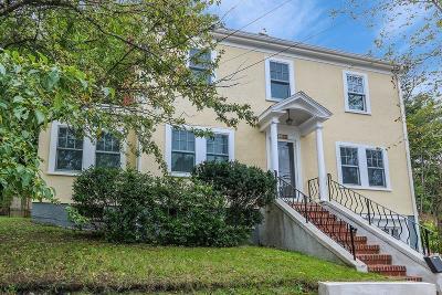 Dedham Single Family Home Under Agreement: 202 High St
