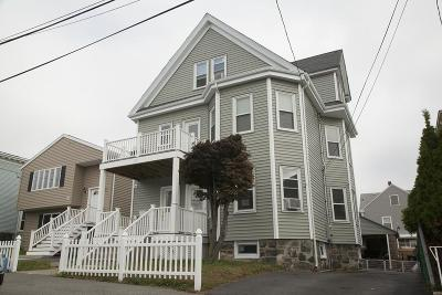 Revere Multi Family Home Under Agreement: 27 Carleton Street.