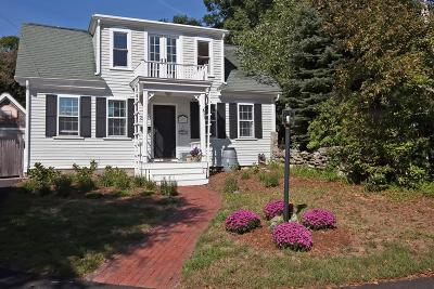 Hingham Single Family Home Under Agreement: 259 A North St