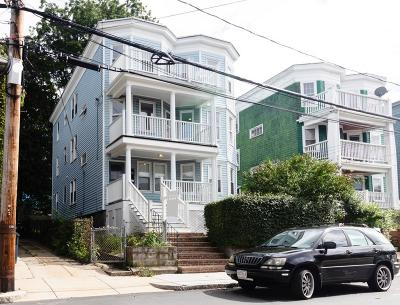 MA-Suffolk County Condo/Townhouse Under Agreement: 78 Forest Hills St #2
