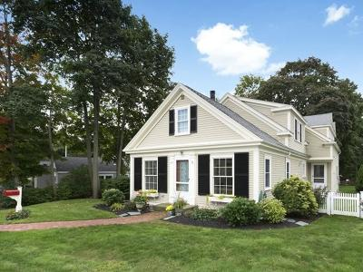 Cohasset MA Single Family Home For Sale: $895,000