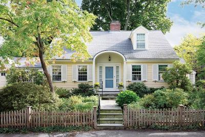 Brookline Single Family Home Contingent: 30 Irving St