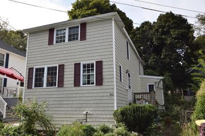 Milton, Quincy, Weymouth, East Bridgewater, Hanover, Hanson, Pembroke, West Bridgewater, Whitman Single Family Home Price Changed: 56 Wessagussett Rd