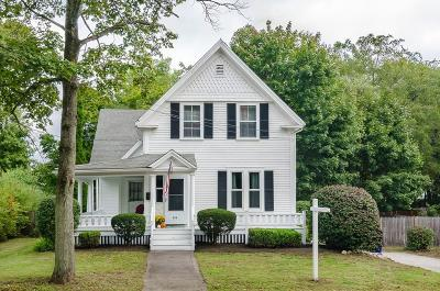 Rockland Single Family Home Under Agreement: 213 Howard Street
