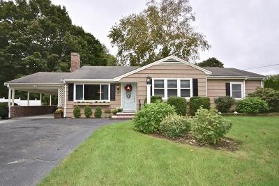 MA-Plymouth County Single Family Home For Sale: 3 Kenneth St.