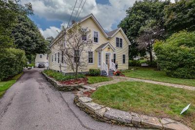 Avon Single Family Home Under Agreement: 50 Highland St