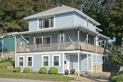 Hull Single Family Home For Sale: 22 Edgewater Rd