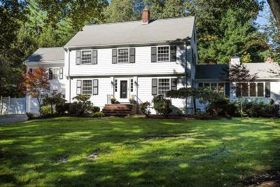 Wellesley Single Family Home For Sale: 1 Chatham Circle