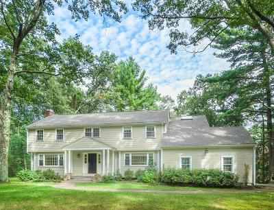 Wayland Single Family Home Contingent: 11 Hampshire Rd