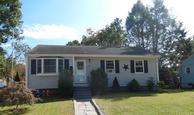 Avon Single Family Home Contingent: 16 Noyes St