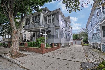 Somerville Multi Family Home Under Agreement: 15-17 Burnham St