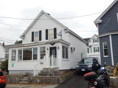 Lowell Single Family Home For Sale: 37 Sarah Ave