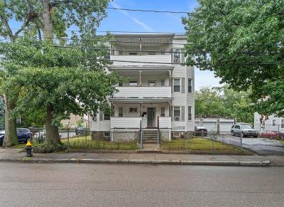 MA-Suffolk County Multi Family Home For Sale: 196 Wood Ave
