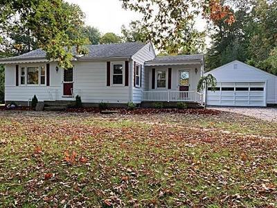 North Smithfield Single Family Home For Sale: 164 Mattity Road