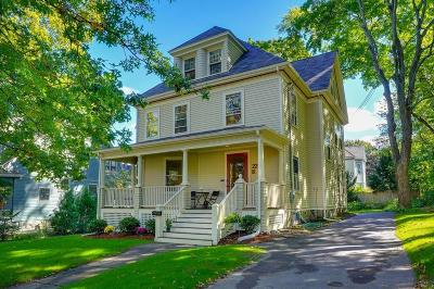 Belmont Single Family Home Under Agreement: 22 Myrtle Street