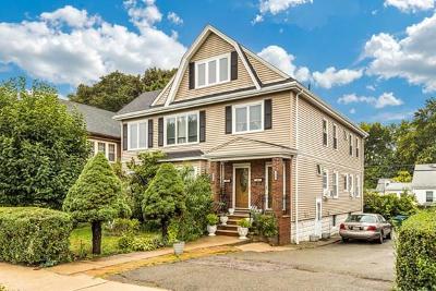 Medford Multi Family Home Under Agreement: 878 -880 Fellsway