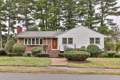 Dedham Single Family Home For Sale: 56 Rosemary Rd