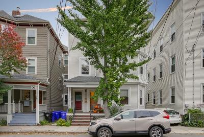 Brookline Condo/Townhouse Under Agreement: 74 Chestnut St #1