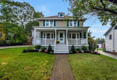 Needham Single Family Home Under Agreement: 60 Rosemary St