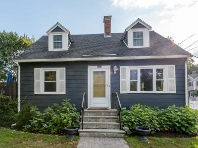 Watertown Single Family Home Under Agreement: 136 Acton St