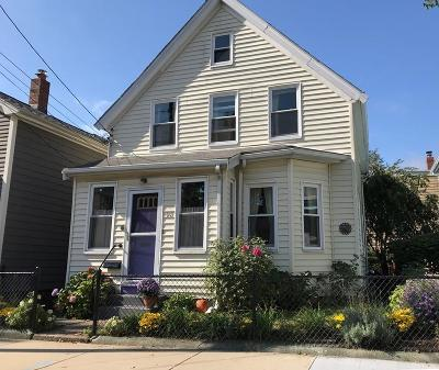 Cambridge Single Family Home For Sale: 98 Reed Street