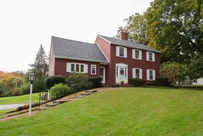 Wayland Single Family Home Under Agreement: 266 Pelham Island Rd