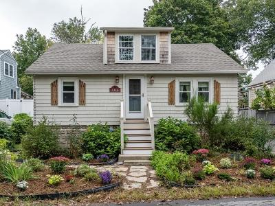 Weymouth Single Family Home For Sale: 102 Morningside Path